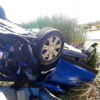 Dos atrapadas en un accidente en la autovía A5