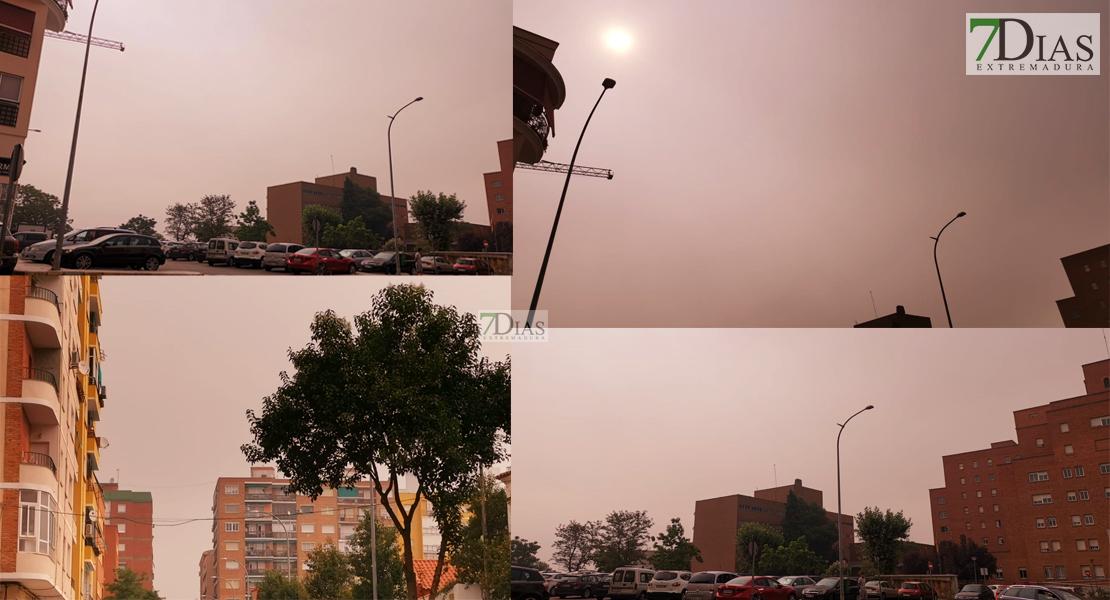 ¿De dónde proviene el humo que cubre el cielo extremeño?