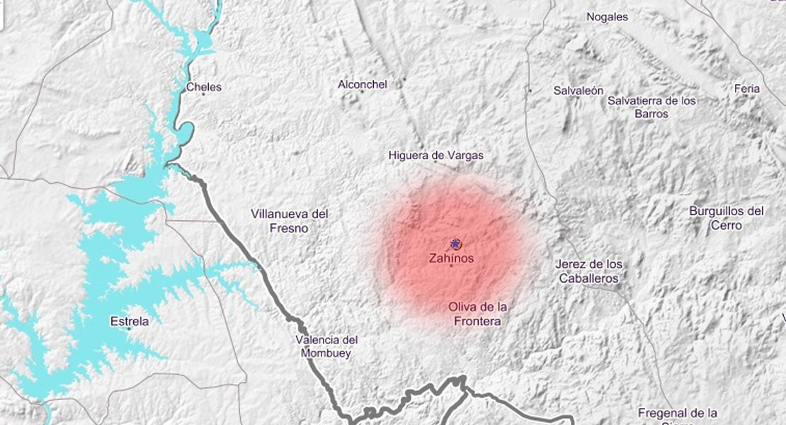 Un seísmo se ha hecho sentir en varias localidades de Badajoz