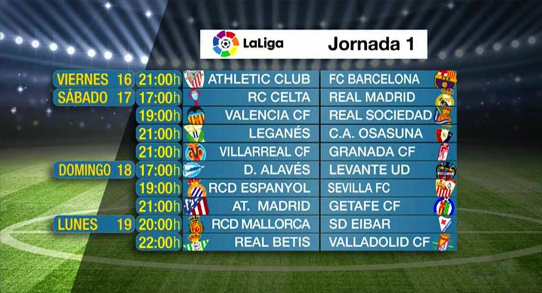 La mitad de los partidos de LaLiga cuestan más de 100 euros en la primera jornada