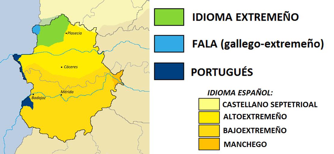 Extremadura y sus tres lenguas