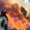 Alerta extrema por incendios en algunas zonas de Extremadura