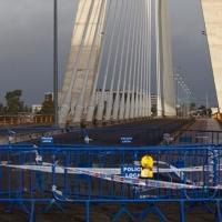 PRECAUCIÓN: Cortes en el Puente Real por obras de asfaltado