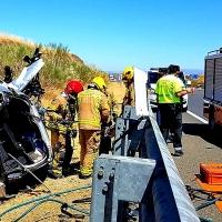 Un fallecido en un accidente en la A-66 a la altura de Casar de Cáceres