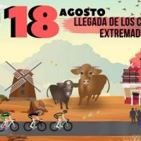 Siete ciclistas recorrerán 2.700 kilómetros de Italia a Extremadura para luchar contra el maltrato animal
