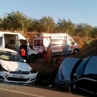 Dos heridos en un accidente en la BA-022