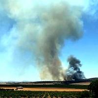 Incendio forestal Nivel 1 en Calzadilla de los Barros (BA)