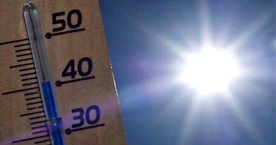 Badajoz registra la máxima temperatura de España este miércoles