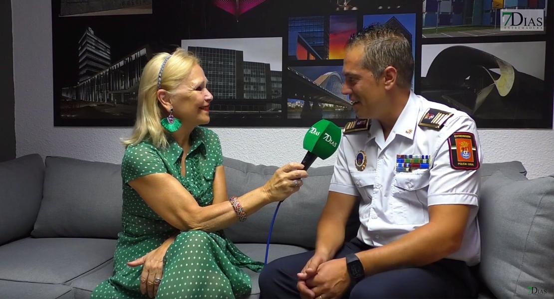 """Rubén Muñoz: """"Badajoz necesita más Policías Locales"""""""