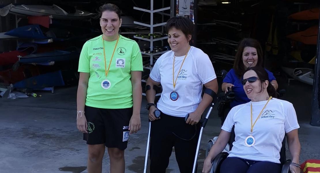 Elena Ayuso se impone en el Open Paracanoe de Zaragoza