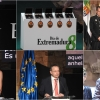 Imágenes del acto de entrega de las Medallas de Extremadura 2019