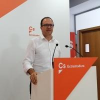 """Cs pide unas infraestructuras """"dignas"""" en Extremadura para acabar con la despoblación"""
