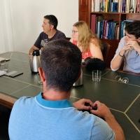 Salaya se reúne con los vecinos de Cáceres El Viejo