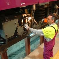 TREN: Continúan los trabajos de construcción de la futura Base de Mantenimiento de Badajoz