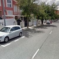 Colisión entre dos vehículos en Cáceres