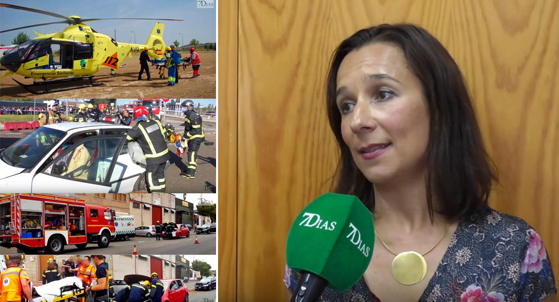 """Nieves Villar: """"El 112 goza de buen estado de salud"""""""