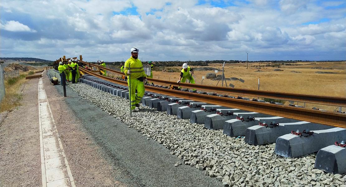 Licitan las obras de plataforma para el tren de alta velocidad en un tramo de Plasencia