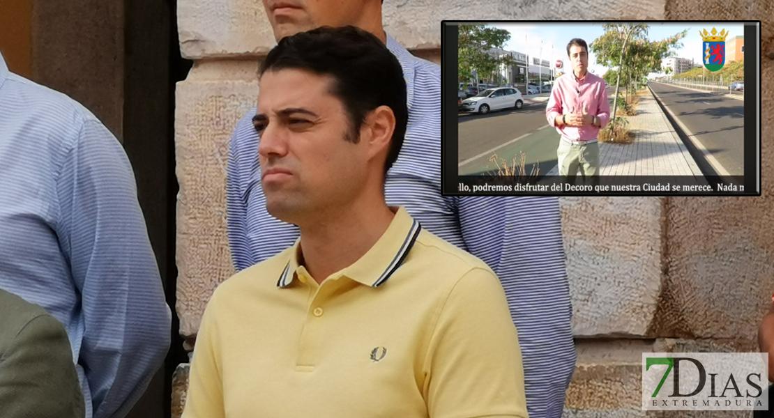 """Vélez exige a las administraciones que limpien la maleza para mantener """"con decoro"""" la ciudad"""