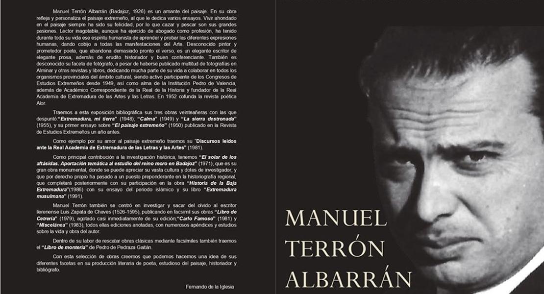 Proponen que Manuel Terrón sea nombrado hijo predilecto de Badajoz