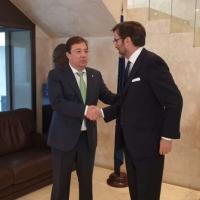 Vara asegura que habrá fondos europeos para infraestructuras sanitarias pendientes en la región