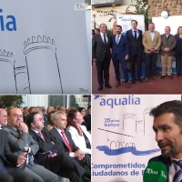 Aqualia celebra sus 25 años en Badajoz
