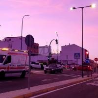 Herido un hombre de 36 años en un accidente de tráfico en Badajoz