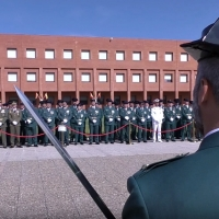 La Guardia Civil celebra el día de su patrona en la escuela de tráfico de Mérida