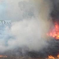 Castelo Blanco vuelve a recibir ayuda de los bomberos extremeños