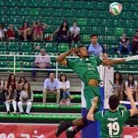 Lucas de Sousa, del Cáceres Voleibol, elegido en el septeto ideal de la jornada