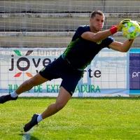 El portero del Mérida Krsto Ljubanovic, convocado con su selección