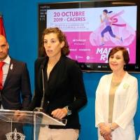 La Carrera de la Mujer inundará de rosa el centro de Cáceres