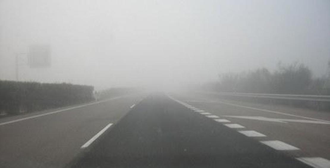 Alerta por niebla en la A-66
