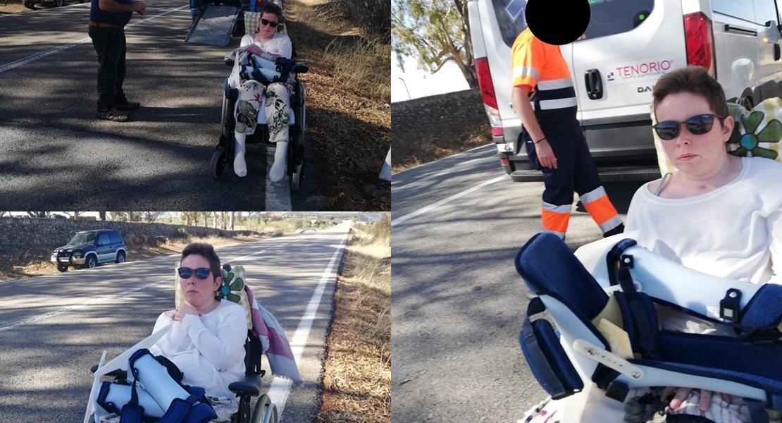 Eva se niega a soportar el aumento de kilómetros en las rutas de las ambulancias