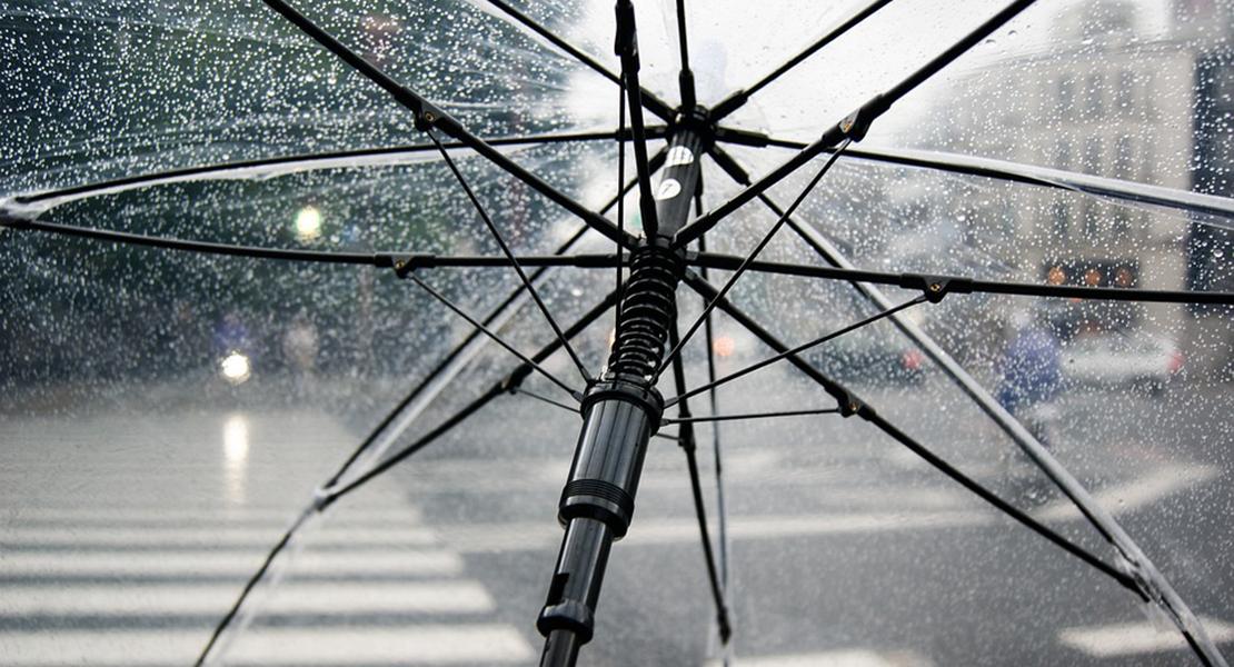 Alerta amarilla por lluvias en la zona norte de Extremadura