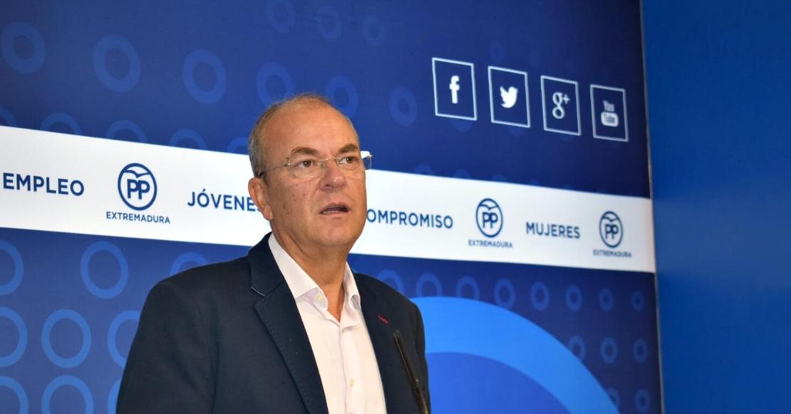 """Monago dice que el anuncio de Vara sobre fondos europeos es un """"brindis al sol"""""""