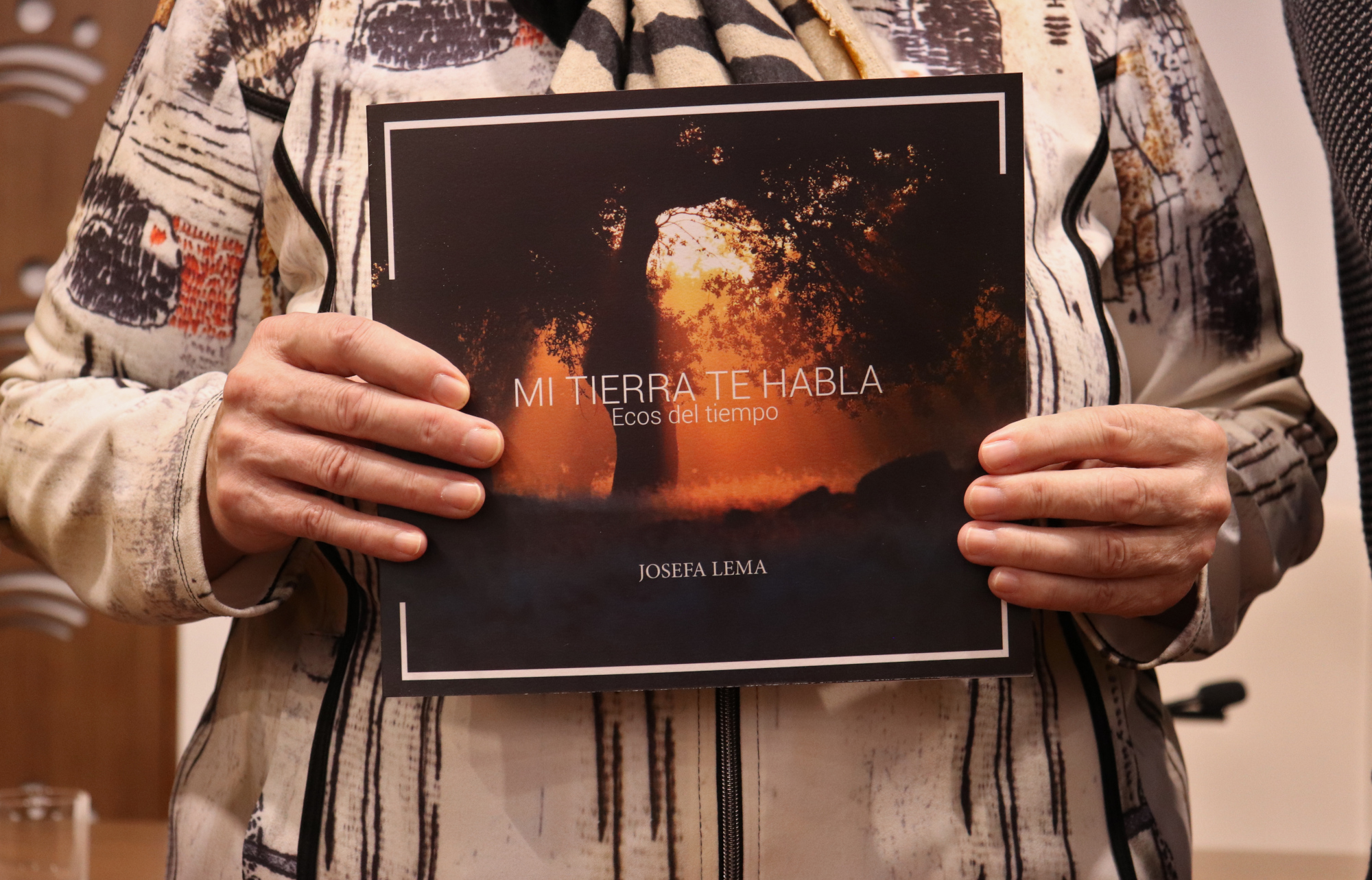 'Mi tierra te habla' a través de los poemas de Josefa Lema