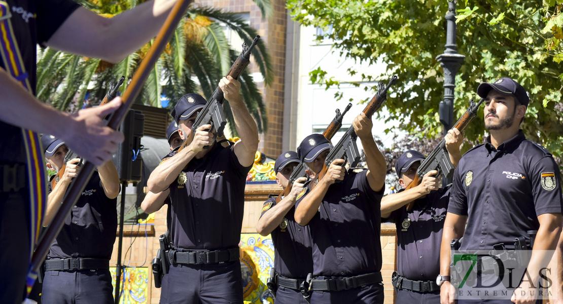 El PSOE de Badajoz solicita reconocer a los efectivos de la Policía Nacional enviados a Cataluña