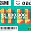 La ONCE deja 1 millón de euros en Badajoz con el sorteo extraordinario del 11 del 11