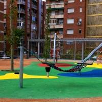 Abren 'las puertas' de una plaza de Santa Marta recién reformada