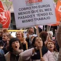 CCOO exige a la patronal del sector de la Atención a la Dependencia un convenio justo
