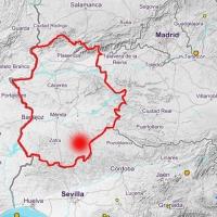 Un microseísmo hace temblar la provincia de Badajoz