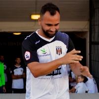Migue Montes se recupera de la rotura del ligamento cruzado y ya entrena con el Mérida