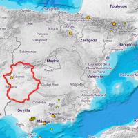 Un pequeño terremoto sacude la provincia de Cáceres