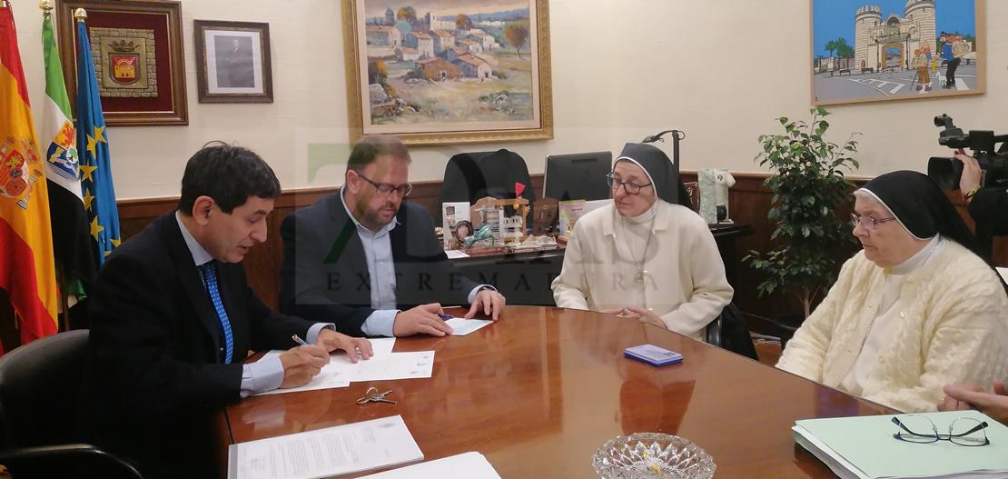 El Ayuntamiento adquiere el convento de las Concepcionistas por 800.000 euros