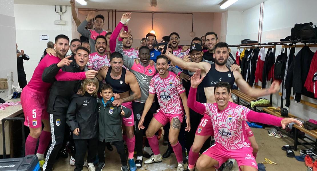 El CD. Badajoz rompe el maleficio de Huelva
