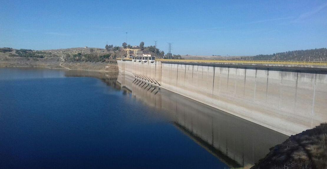 La lluvia aún no consigue mejorar la reserva hidráulica en Extremadura