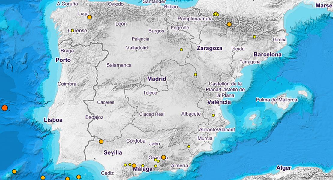 Microseísmo en la frontera con Fuentes de León (Badajoz)
