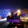 Tres heridos en una colisión en Valdebótoa (Badajoz)