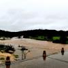 Los arroyos y ríos de Sierra de San Pedro también bajan con fuerza