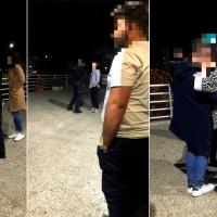 Varias patrullas de Policía intervienen en un altercado a las puertas de un bar de Badajoz